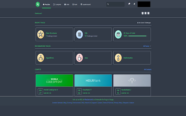 CoderVision for HackerRank