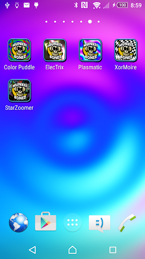Color Puddle Live Wallpaper Fr