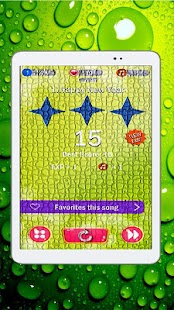 Piano Tiles Green Glitter 2018 - náhled