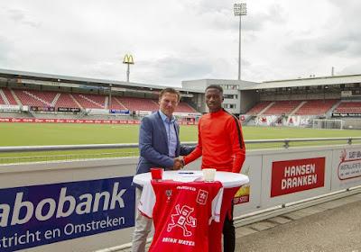 Jonathan Okita à nouveau buteur avec le MVV Maastricht