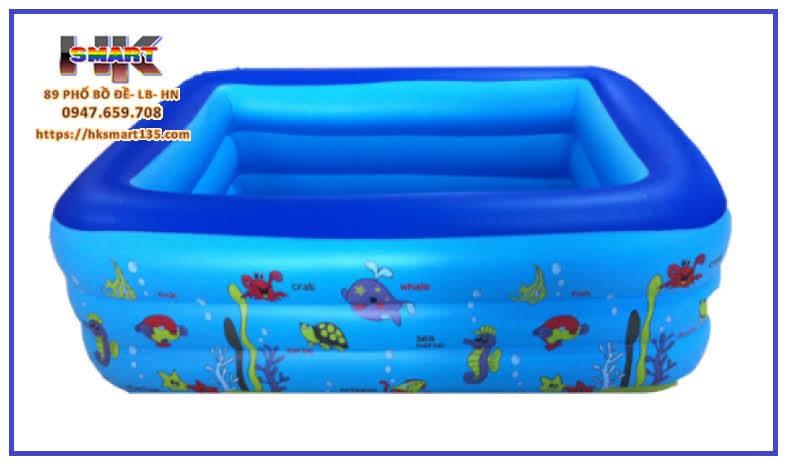 Bể bơi phao trẻ em Swimming Pool 3 tầng