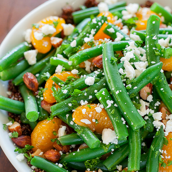 Green Bean and Quinoa Salad with Maple Citrus Dressing Recipe | Yummly