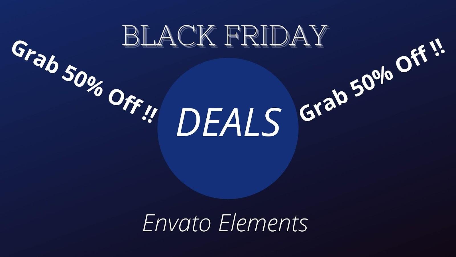 Envato Elements: Grab 50% Off!