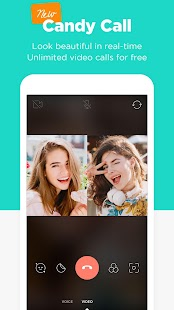 Candy Camera - selfie, beauty camera, photo editor Screenshot