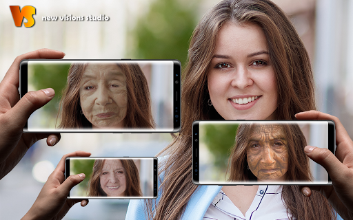 Make Me Old App: Face Aging Effect Photo Editor ss3