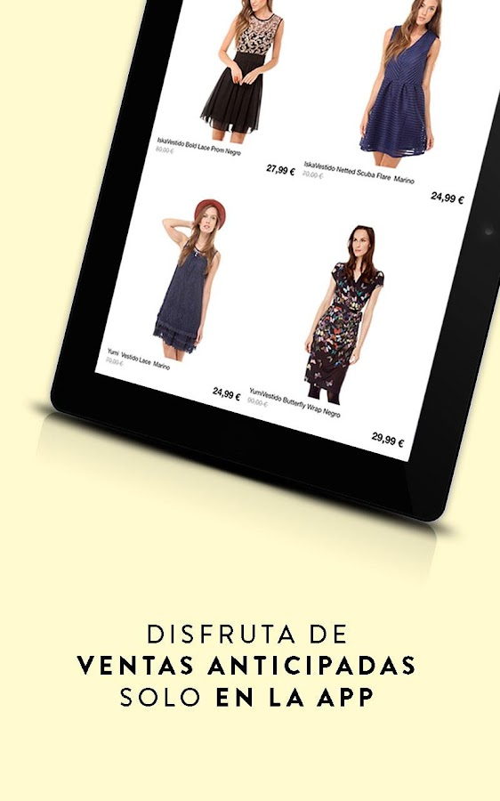 Privalia - Comprar moda online- screenshot