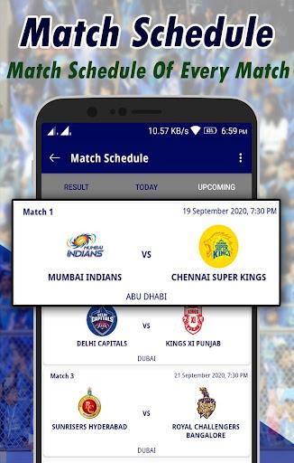 IPL Live 2020 screenshot 2