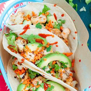 Fresh Mex Vegan Roasted Cauliflower Tacos