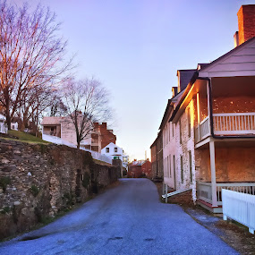 Historic Harpers Ferry by Chris Montcalmo - City,  Street & Park  Historic Districts ( west virginia, outdoors, scenic, harpers ferry, historic )