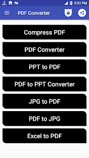 PDF To Edit eSign Unlock JPG Excel Word Converter - náhled