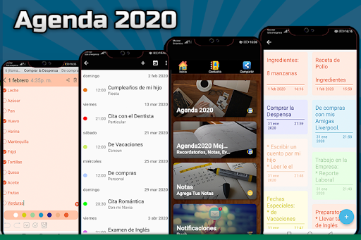 Agenda 2020 Gratis screenshots 1