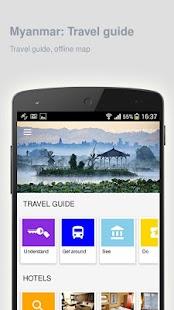 Myanmar: Offline travel guide - náhled