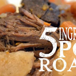 5 Ingredient Pot Roast Recipe