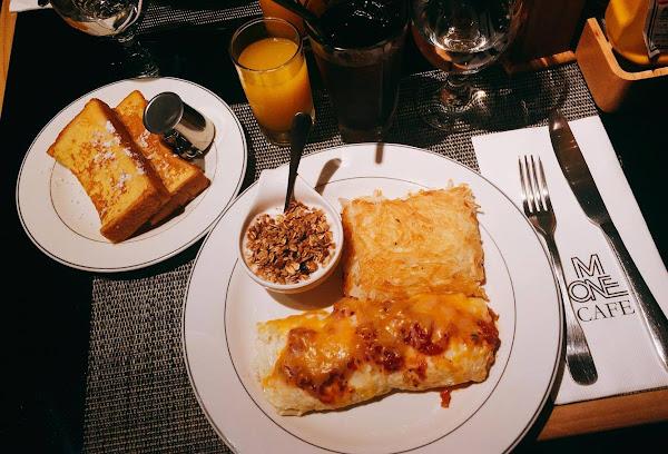 M one cafe 低調高貴裝潢的人氣早午餐