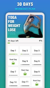 Yoga for Weight Loss – Daily Yoga Workout Plan 1