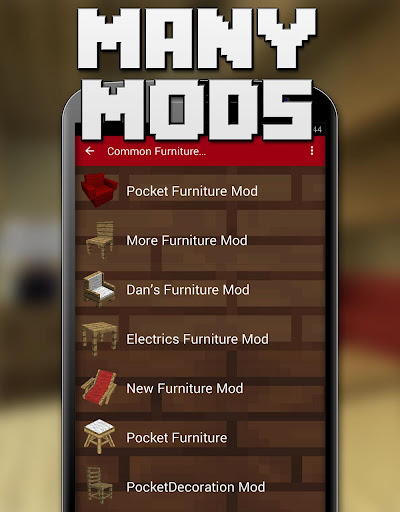 玩免費書籍APP|下載Furniture Mods for Minecraft app不用錢|硬是要APP