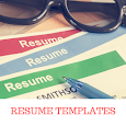 RESUME TEMPLATES 2018 icon