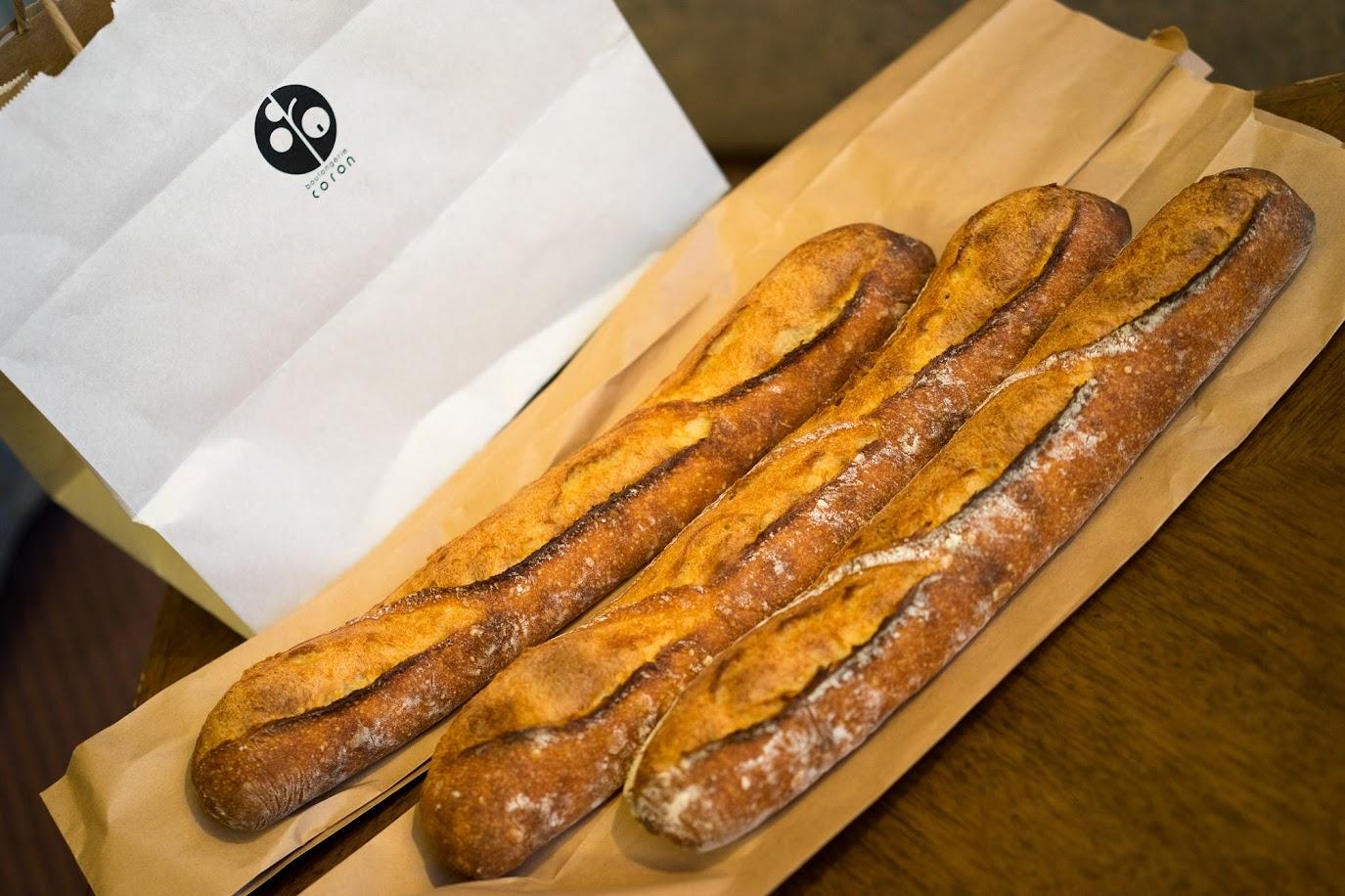 ブーランジェリー コロン(boulangerie coron)のフランスパン