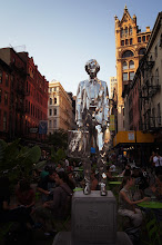 Photo: The Andy Monument, a tribute to Andy Warhol.   Union Square, New York City.  View the writing that accompanies this post here at this link on Google Plus:  https://plus.google.com/108527329601014444443/posts/fLbgq2avgVt  View more New York City photography by Vivienne Gucwa here:  http://nythroughthelens.com/