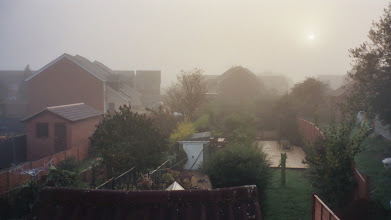 Photo: Foggy morning, Shefford.  The river is about 500 yards away and fills a wide area.