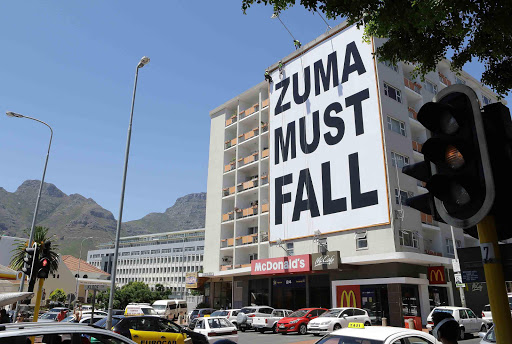 Zuma must fall - who paid for this?