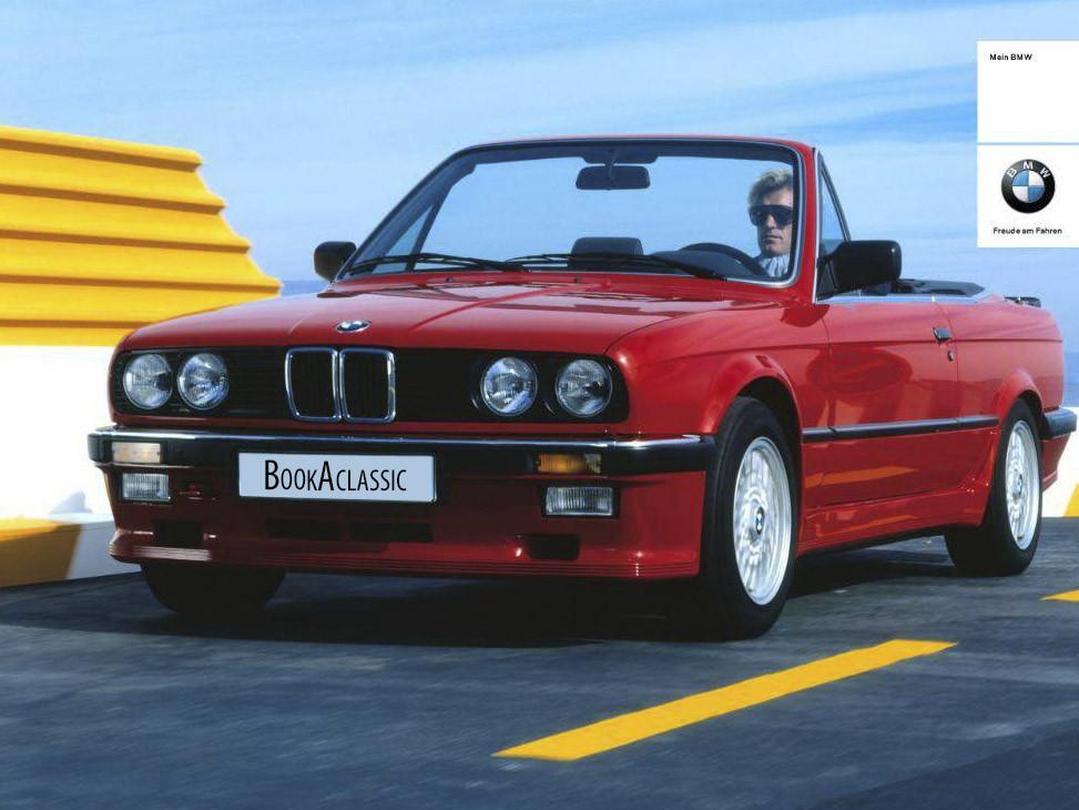 BMW E30 318i Convertible Hire London