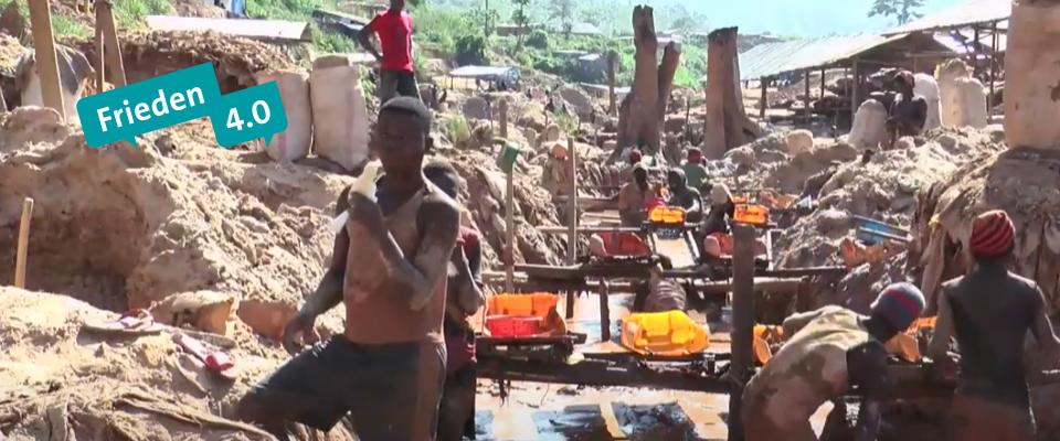Frieden 4.0: Das Lieferkettengesetz und das Elend im Kongo