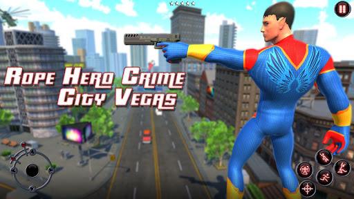 Rope Amazing Hero Crime City Simulator Apk 2