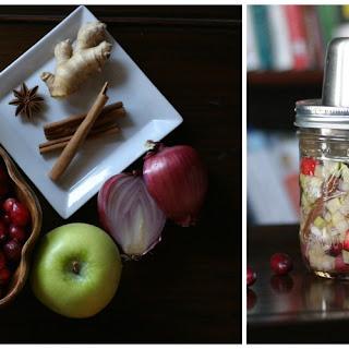 Raw Cranberry-Apple Chutney