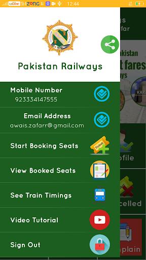 Pakistan Railways Official Apk apps 2