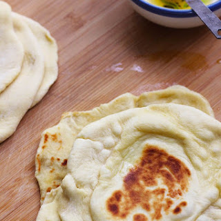 Easy Indian Naan Bread.