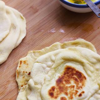 Easy Indian Naan Bread.