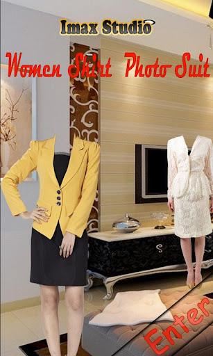 Women Skirt Photo Suit
