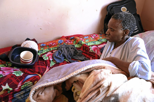 Woman bedridden after four unsuccessful operations