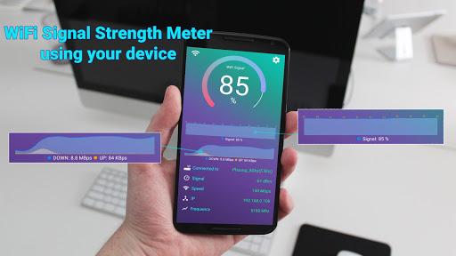 WiFi Signal Strength Meter  screenshots 4