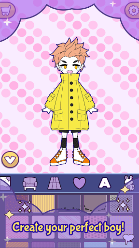 BatDoll Pastel goth dress up boy APK MOD (Astuce) screenshots 3