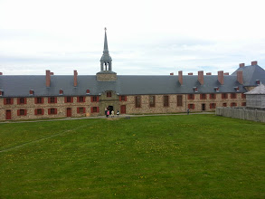 Photo: I couldn't get on the first ferry, no reservations, so I took a side trip to the fortress at Louisbourg.