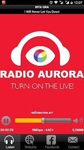 Radio Aurora 100.7 FM - náhled