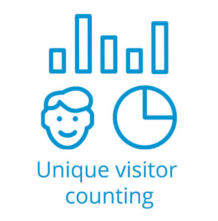 Unique Visitor Counting module with Face Recognition for 1 camera from package from 1000 IP cameras
