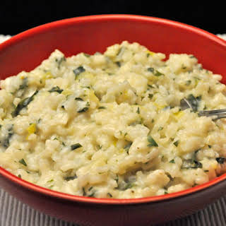 Parsley Risotto.