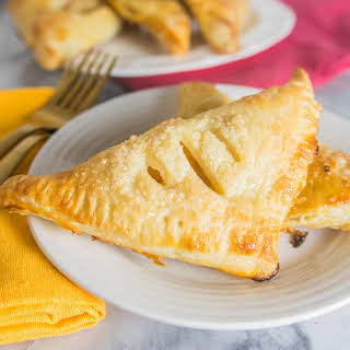 Ginger Peach Turnovers.