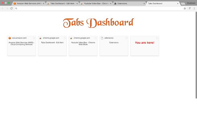 Tabs Dashboard