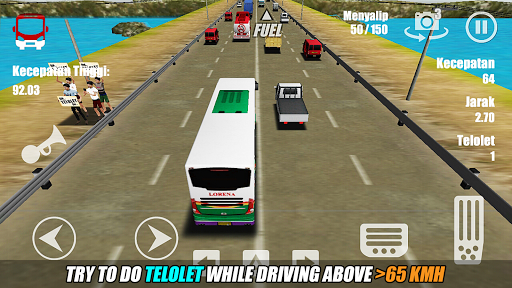 Telolet Bus Driving 3D 1.2.4b Screenshots 3