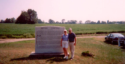 Photo: Leigh Henson and his wife, Pat Hartman, 2003