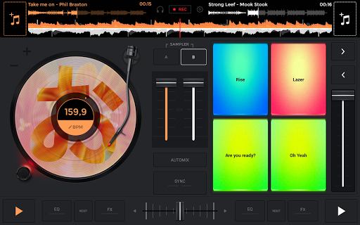 edjing Mix: DJ music mixer 6.5.2 screenshots 12