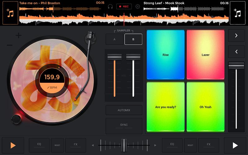 edjing Mix: DJ music mixer APK Cracked Free Download | Cracked