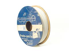 Proto-Pasta White Matte Fiber HTPLA Filament - 1.75mm (0.5kg)