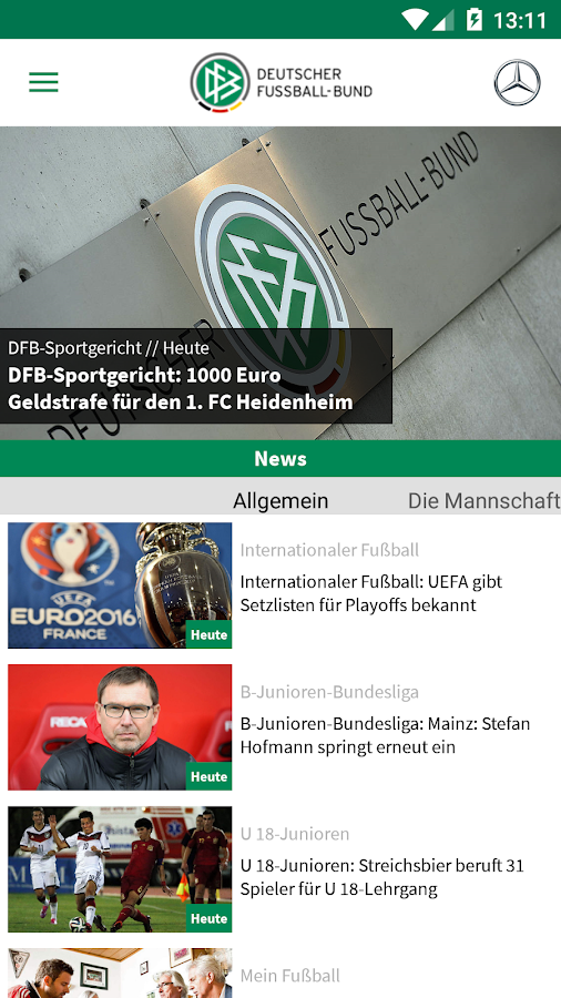 DFB- screenshot