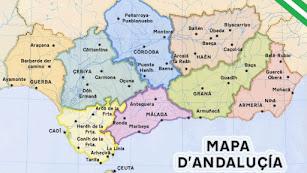 Mapa publicado por Er Principito Andaluh.