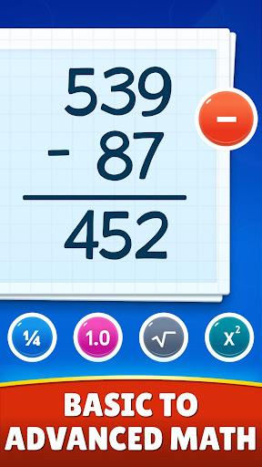 Math Games - Addition, Subtraction, Multiplication apktram screenshots 2